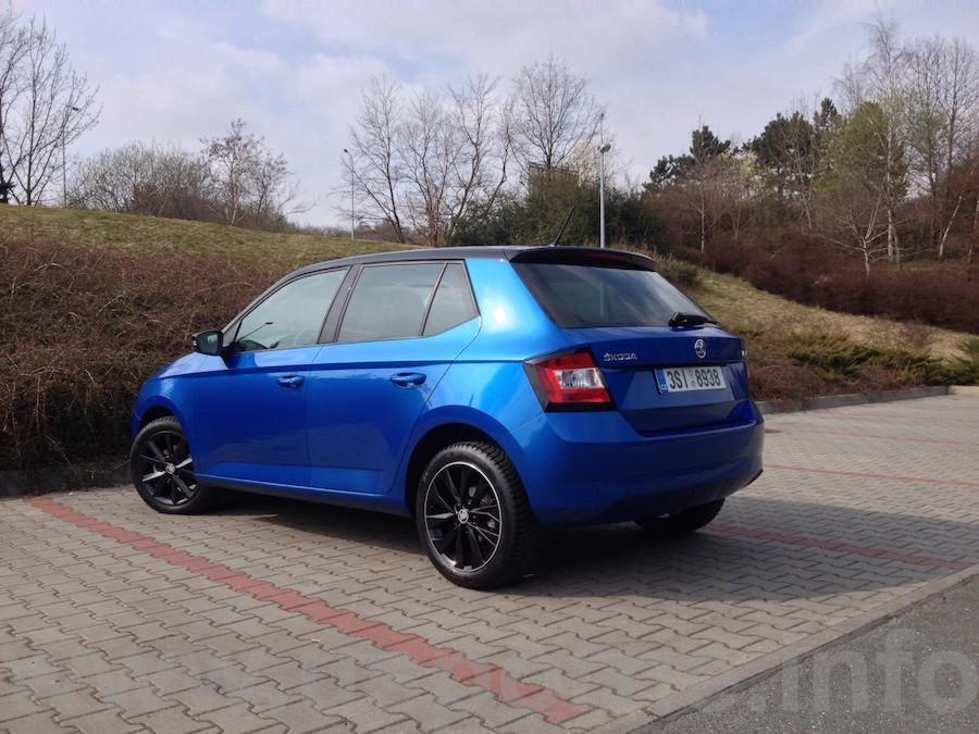 Škoda Fabia 1,4 TDI zezadu