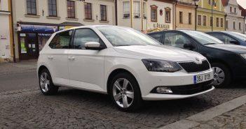 Škoda Fabia 1,2 TSI 66 kW - zepředu