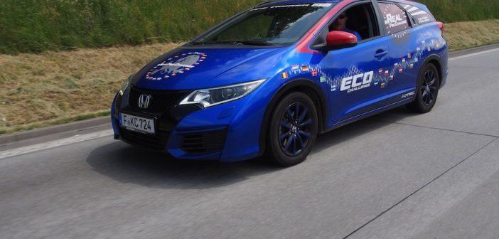 Rekordní Honda Civic Tourer 1,6 i-DTEC na trase