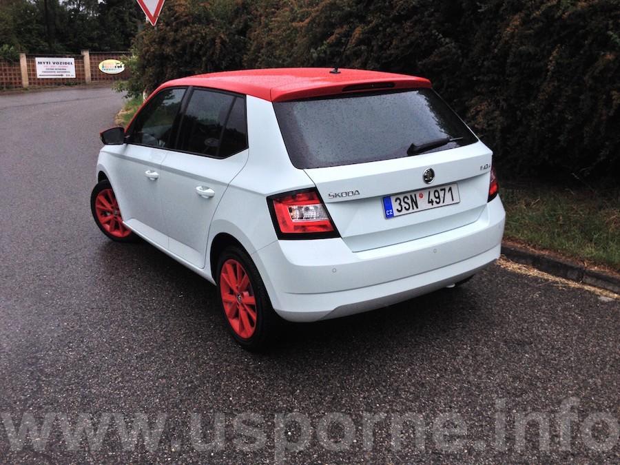 Škoda Fabia 1,4 TDI 66 kW DSG zezadu