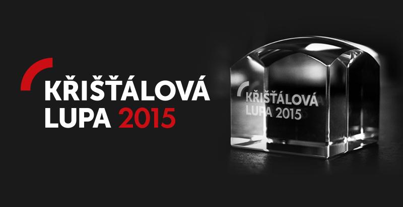 Logo KŘIŠŤÁLOVÁ LUPA 2015