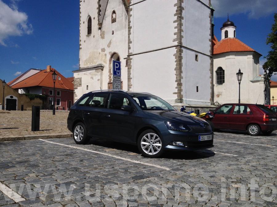 Škoda Fabia 1,2 TSI 81 kW - zepředu