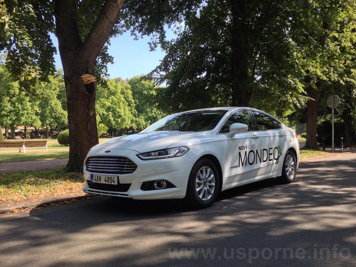 Ford Mondeo HEV (hybrid) zepředu