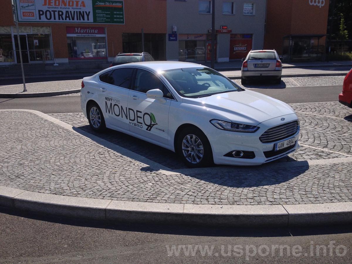 Ford Mondeo HEV (hybrid) - zepředu