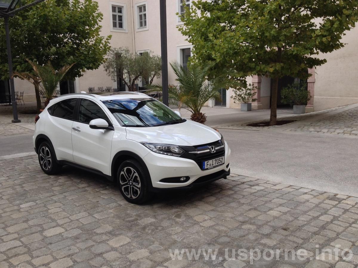 Honda HR-V 1,5 i-VTEC, 6 stupňová manuální převodovka, bílá
