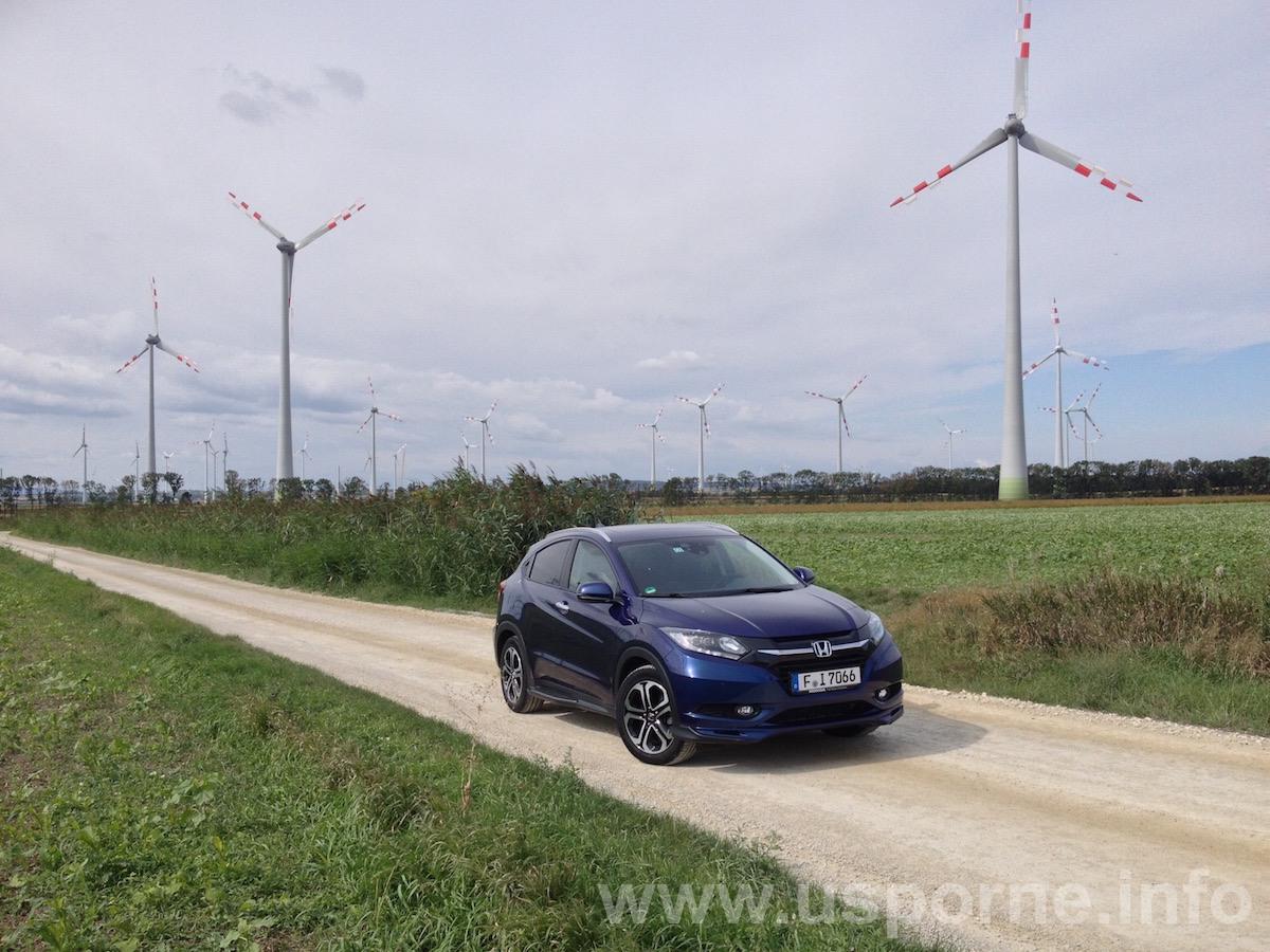 Honda HR-V, 1,6 i-DTEC, modrá