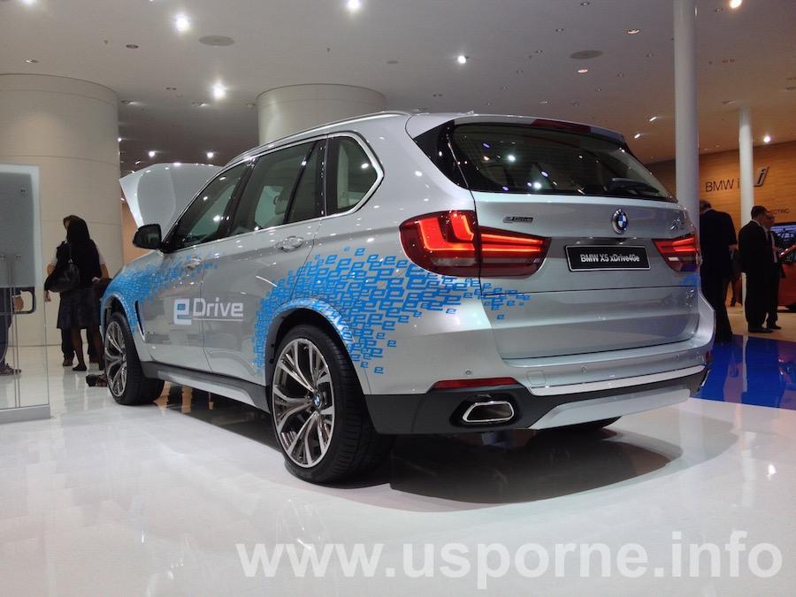 BMW X5 xDrive40e, první plug-in hybrid z řady eDrive