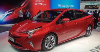 Nová Toyota Prius - zepředu