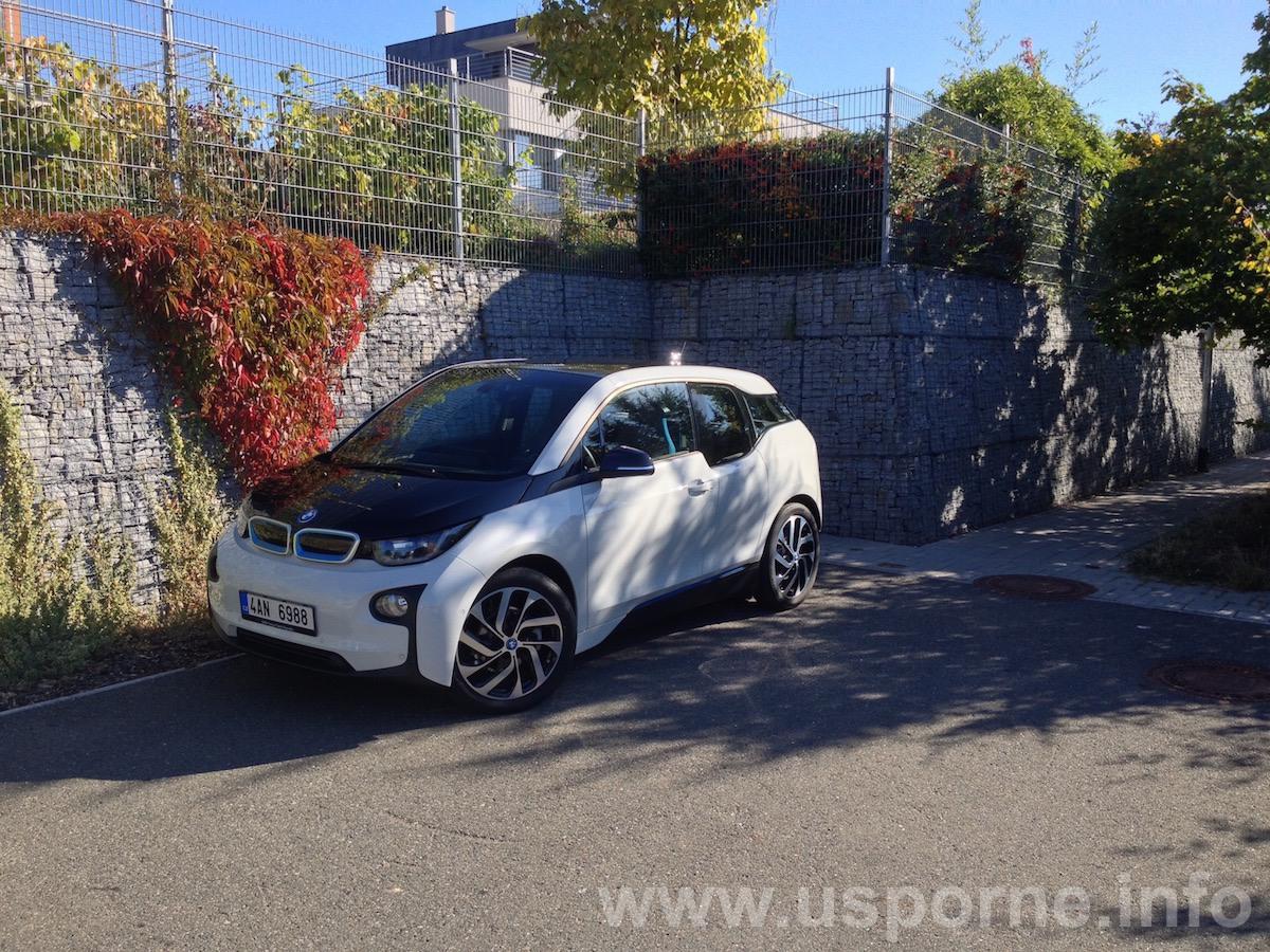 BMW i3 zepředu