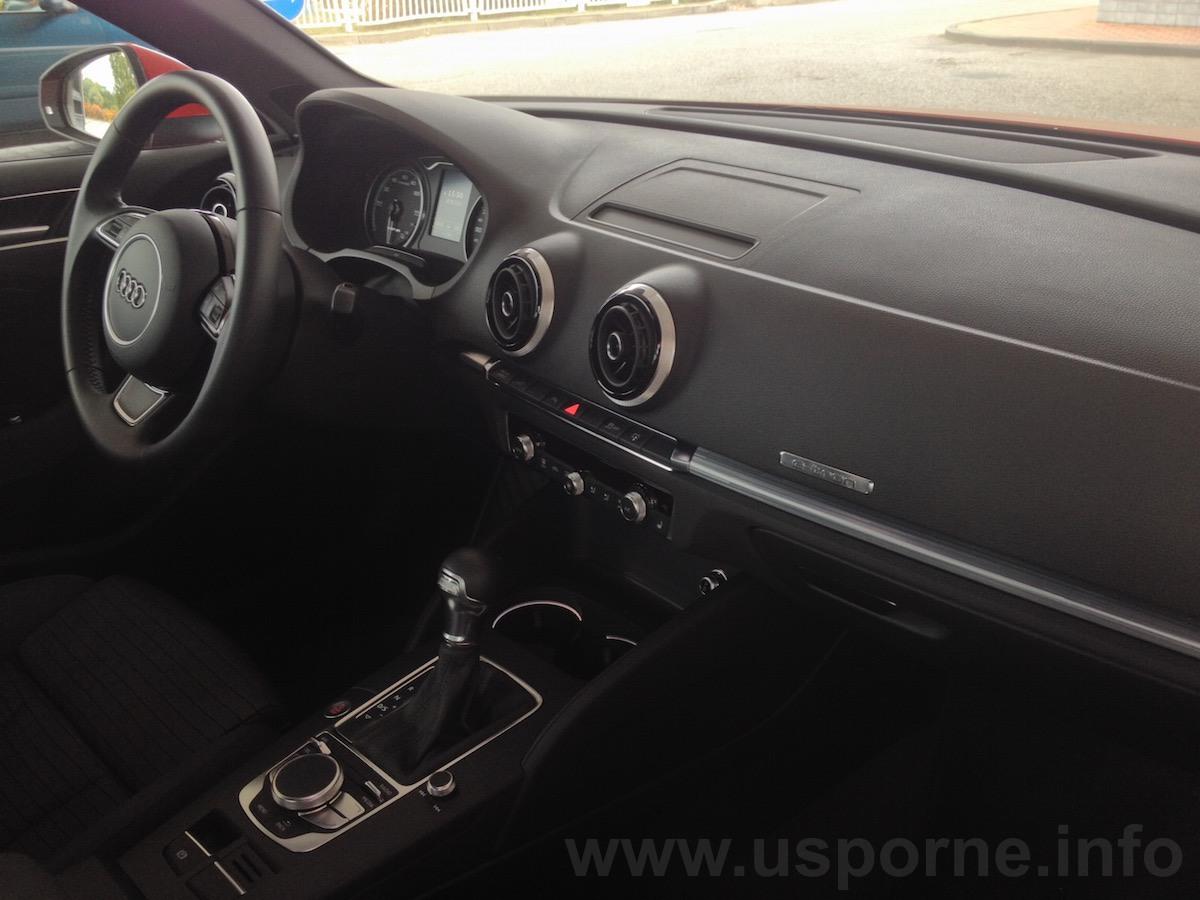Interiér Audi A3 e-tron