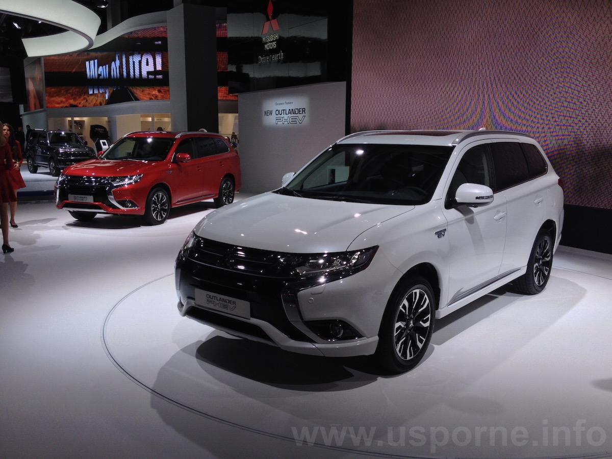 Nové Mitsubishi Outlander PHEV