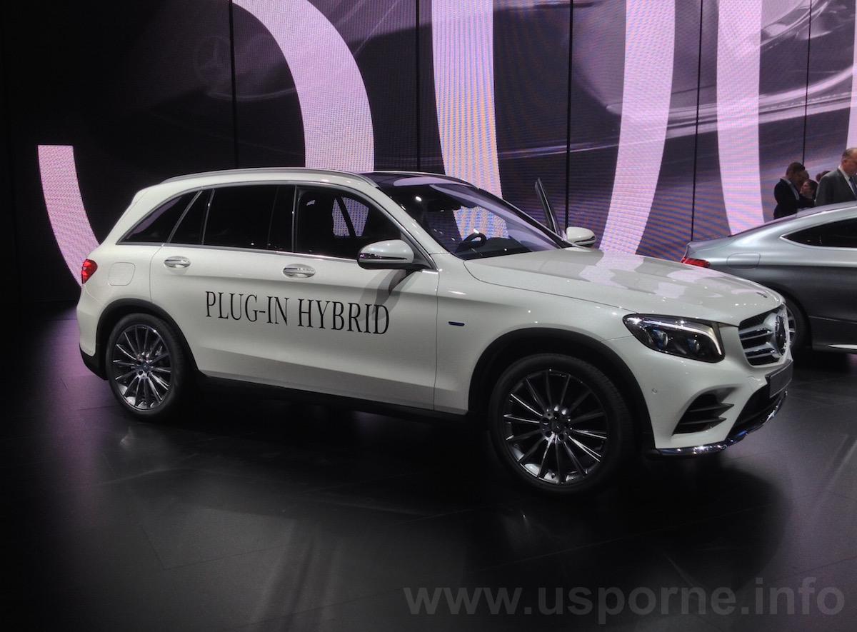 Nový Mercedes-Benz GLC 350 e 4MOTION