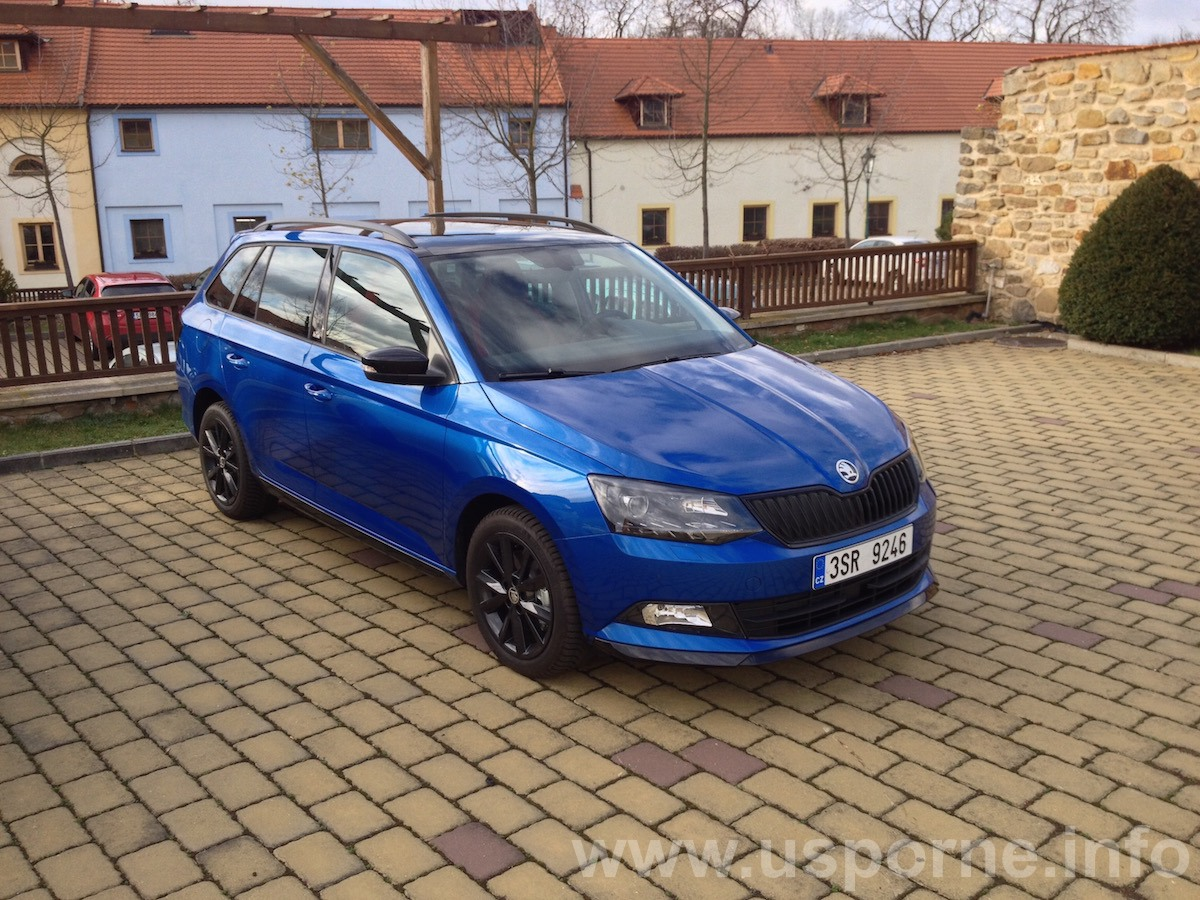 Škoda Fabia Combi- 1,4 TDI