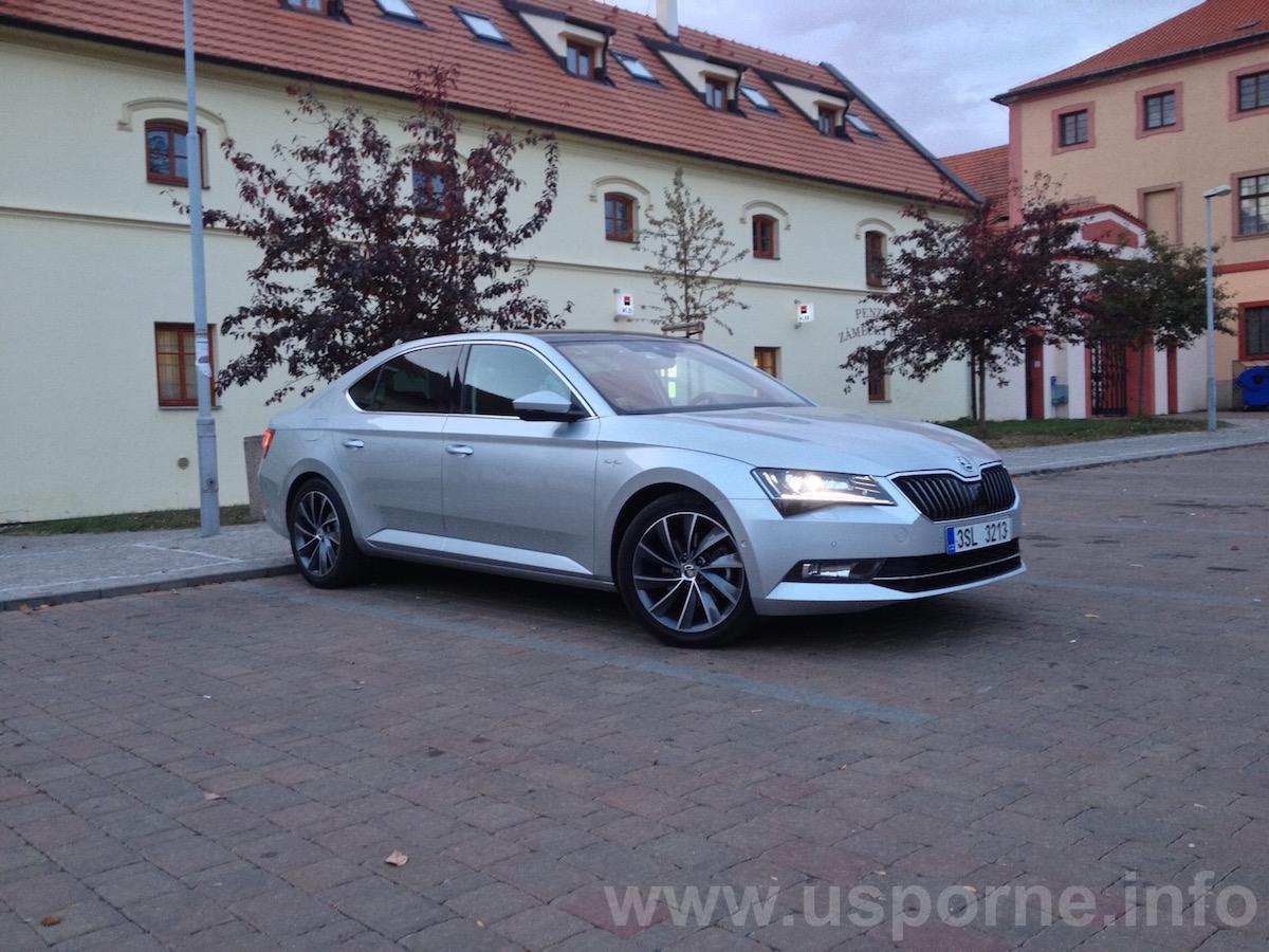 Škoda Superb 1,4 TSI ACT - náhled