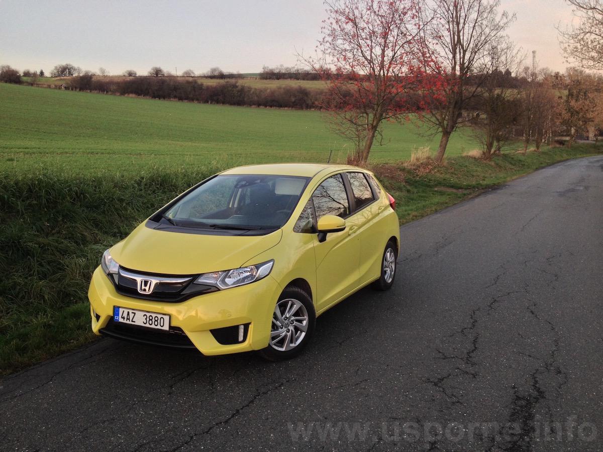 Honda Jazz 1,3 i-VTEC - zepředu, okreska