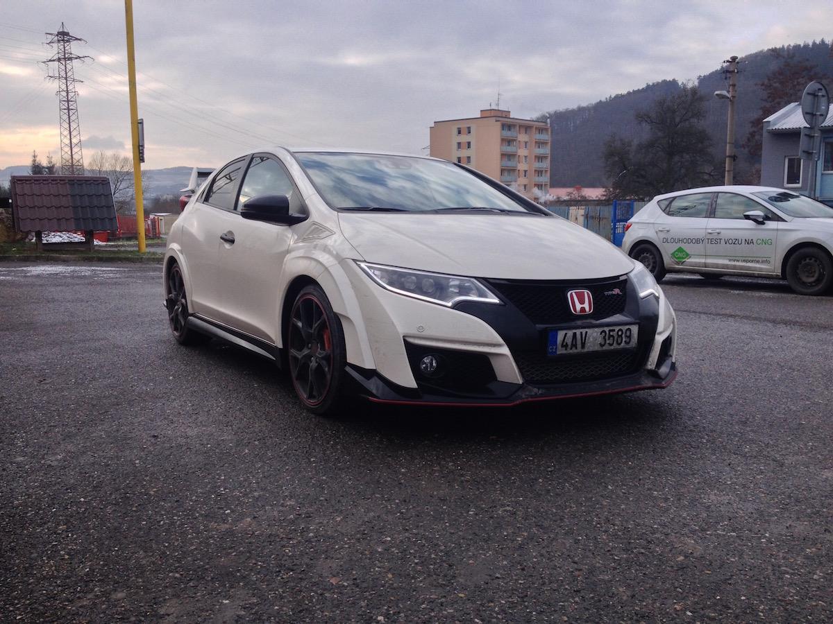 Honda Civic Type R - zepředu