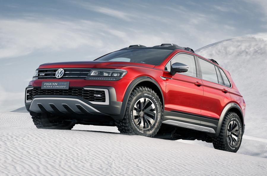 VW Tiguan GTE Active concept - zepředu
