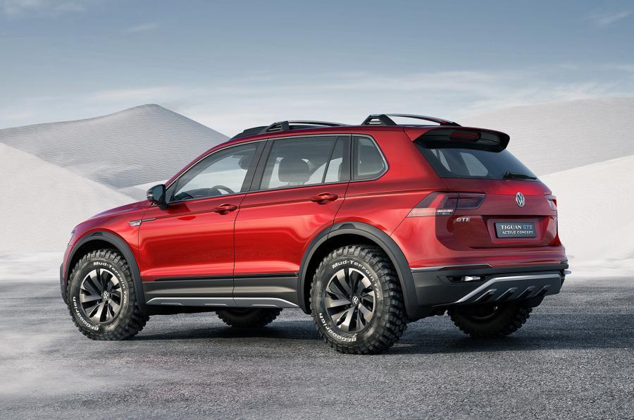 VW Tiguan GTE Active concept - zezadu