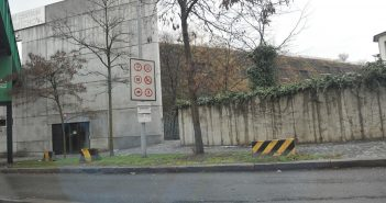Zákaz vjezdu pro vozidla na CNG a LPG - OC Nový Smíchov