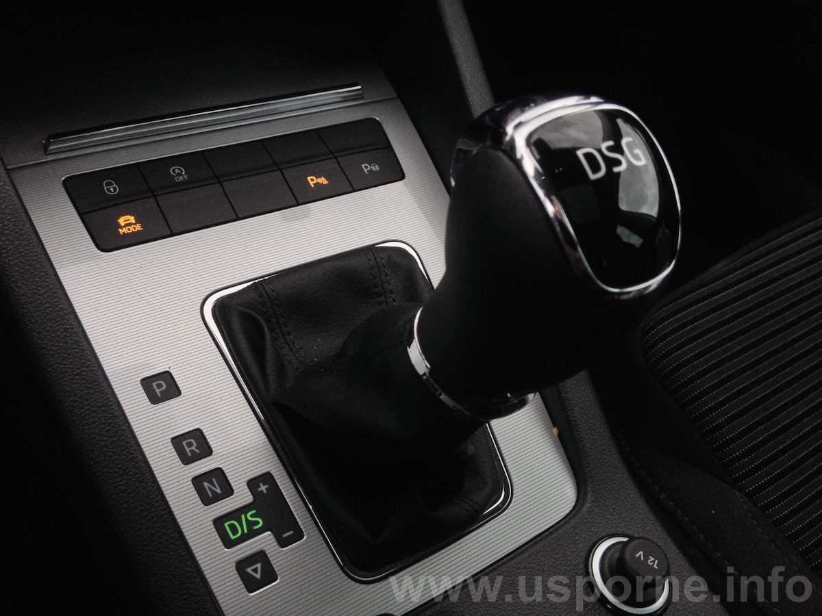 Škoda Octavia 1,6 TDI 81 kW - převodovka DSG 7 st.