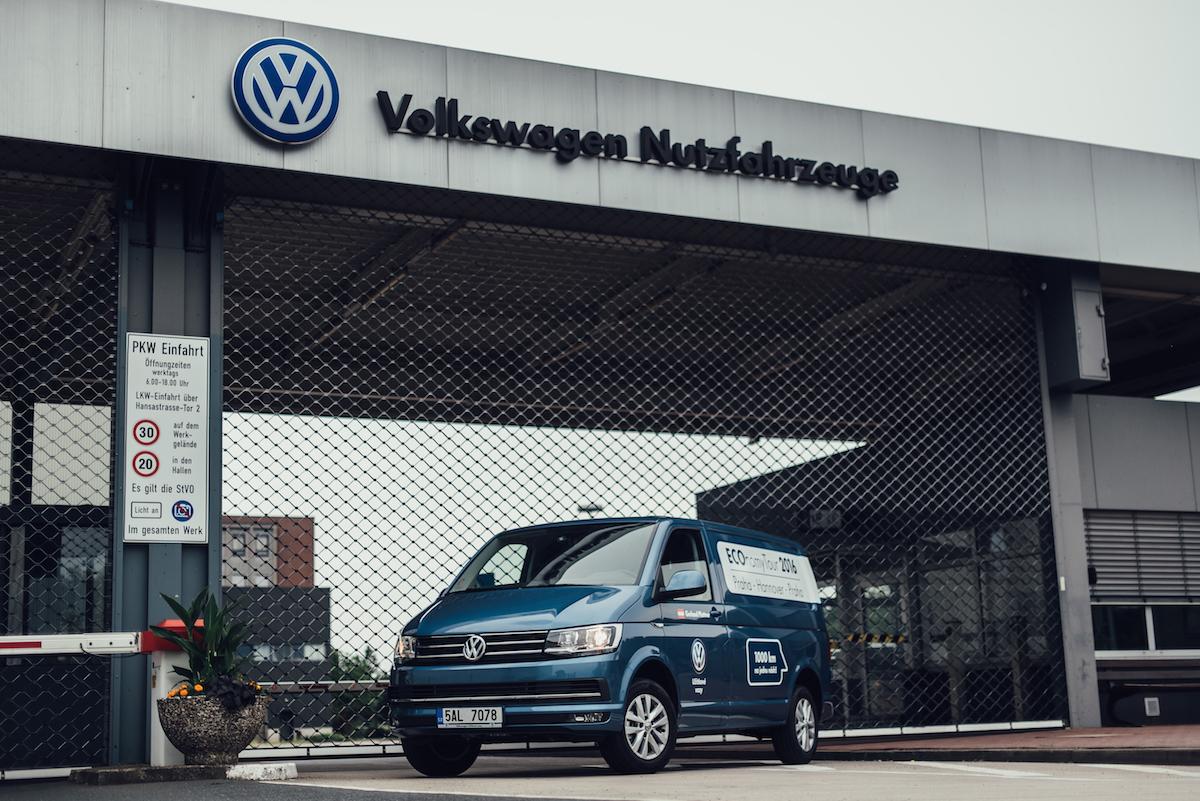 Volkswagen Transporter 2,0 TDI v Hannoveru