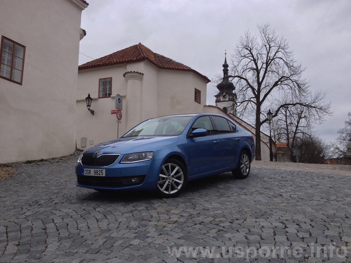 Škoda Octavia 1,2 TSI DSG - zepředu