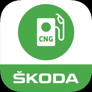 Logo ŠKODA CNG