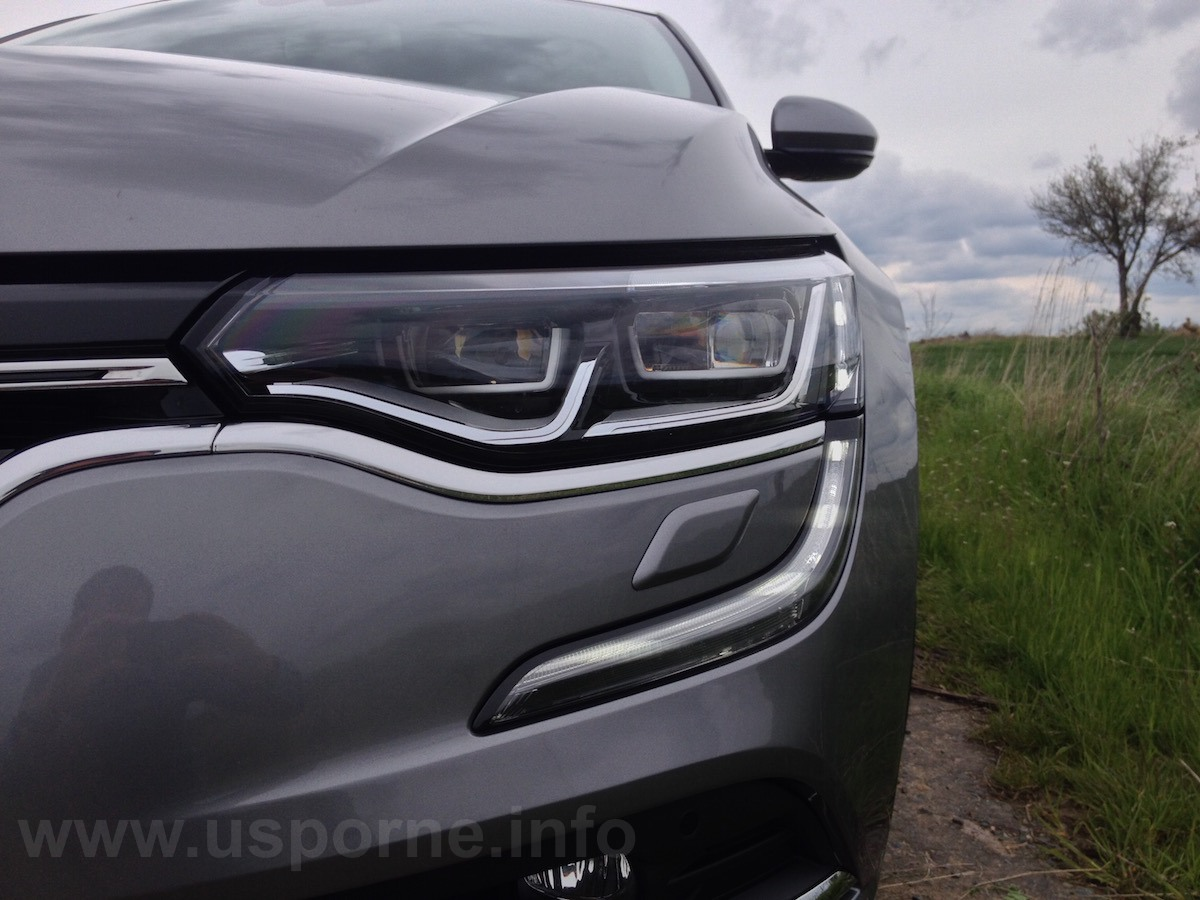 Renault Talisman - nejvíce extravagantní jsou přední světla
