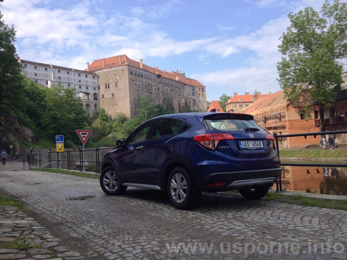 Honda HR-V - zezadu - Český Krumlov