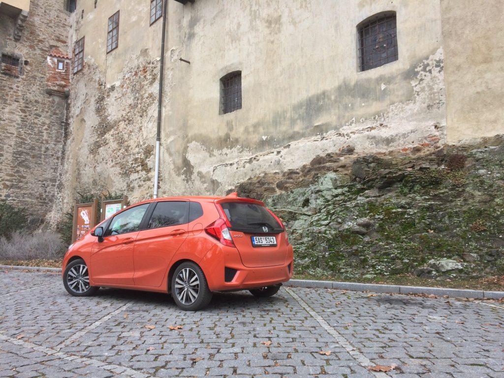Honda Jazz 1,3 i-VTEC 75 kW CVT - zezadu