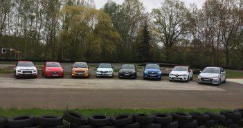 C3, Clio, Corsa, Fabia, i20, KA+, Rio a Sandero