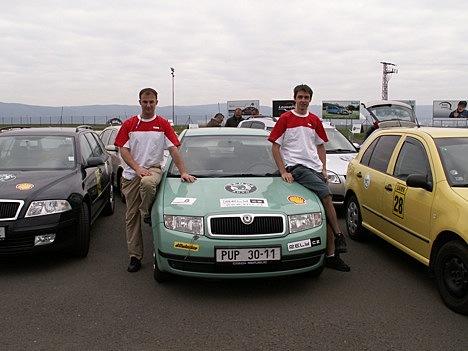 Marek Tomíšek a David Kazda, Škoda EconomyRun 2008