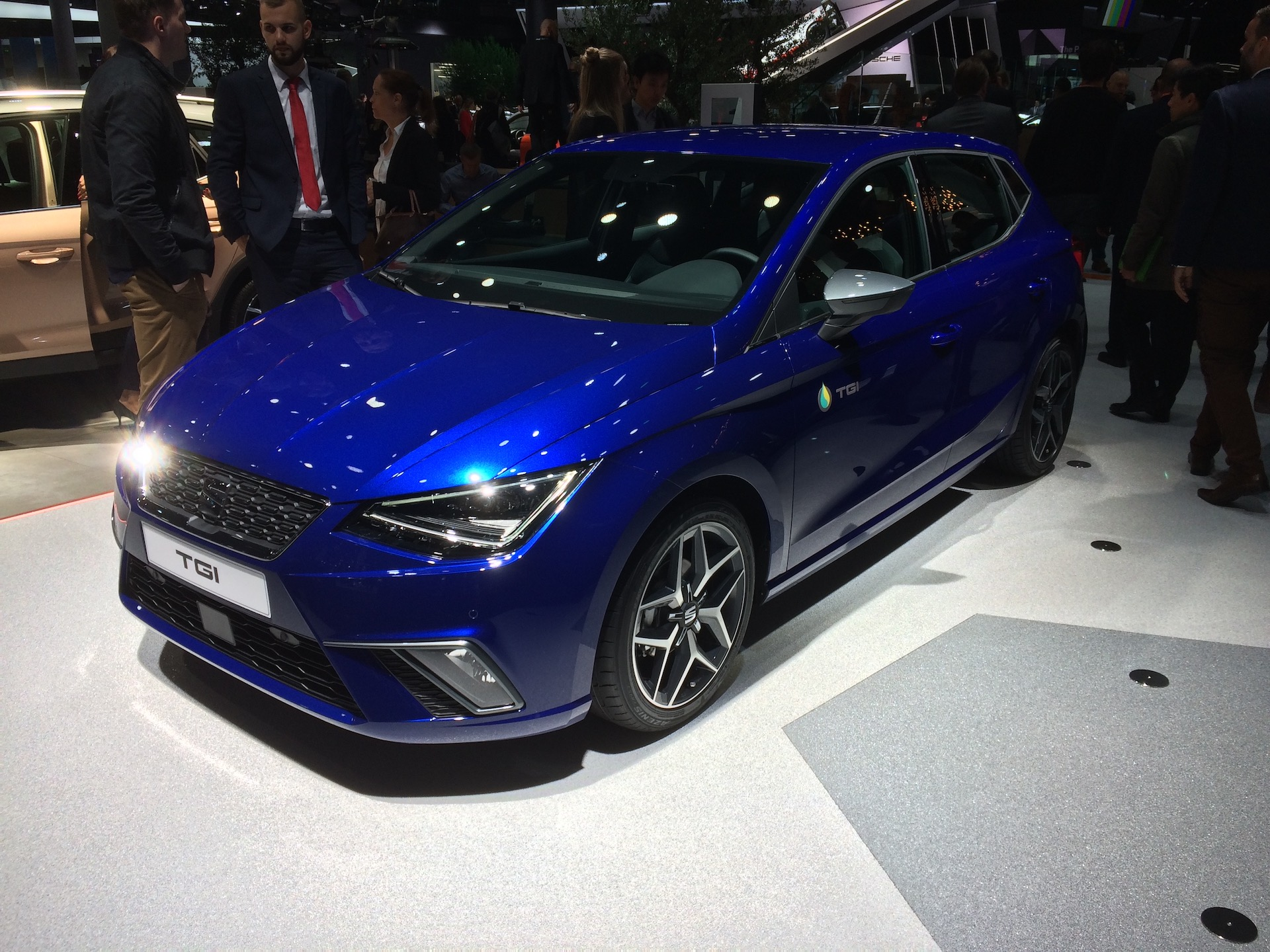 SEAT Ibiza 1,0 TGI (CNG) - zepředu