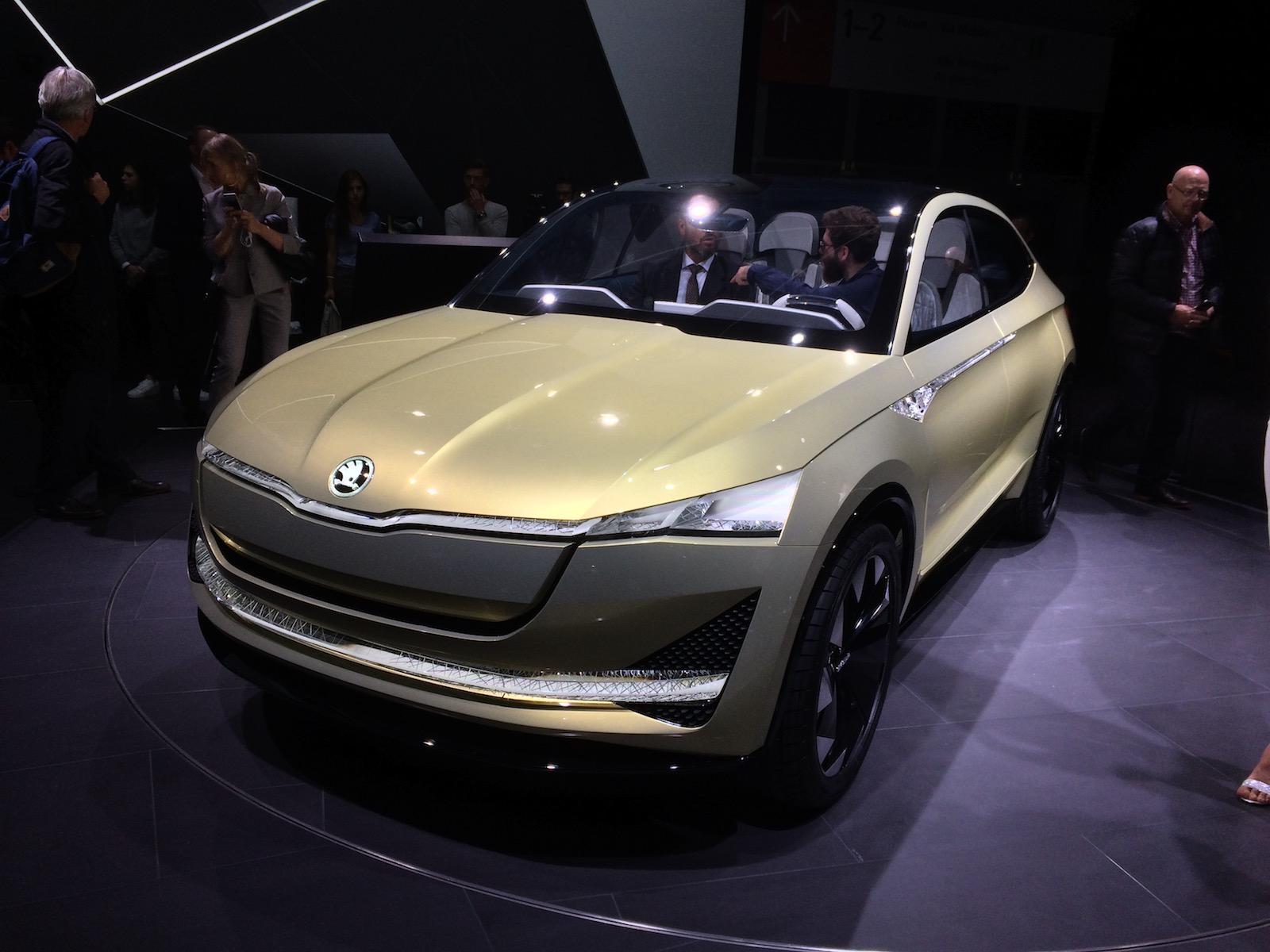 Škoda Vision E - zepředu