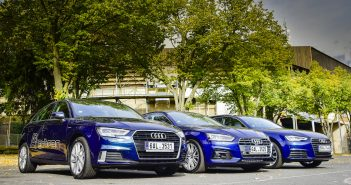 Audi g-tron společne A3, A4 i A5