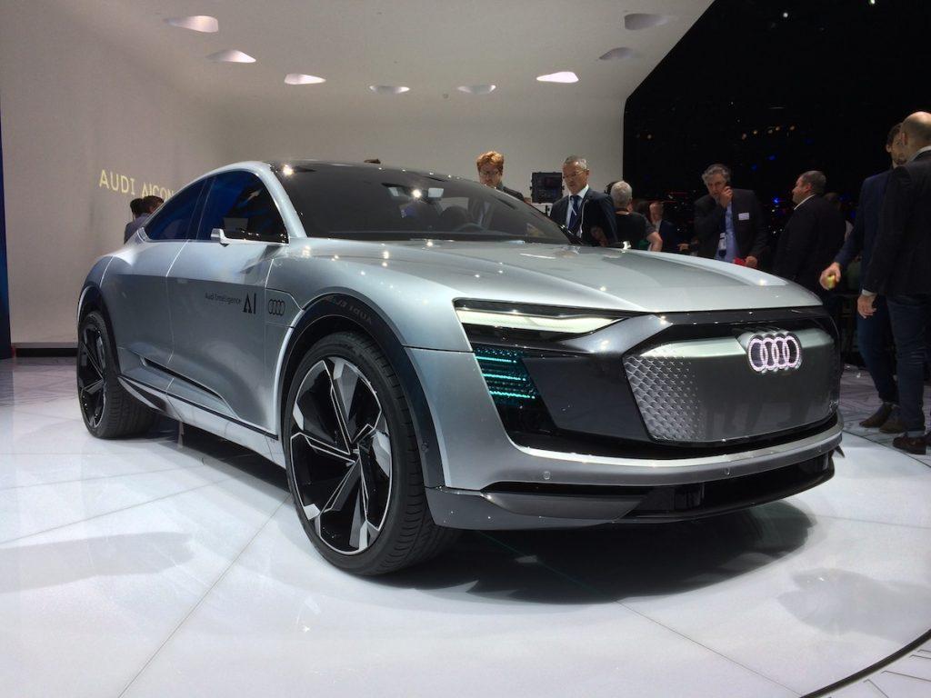 Audi ELAINE e-tron Sportback