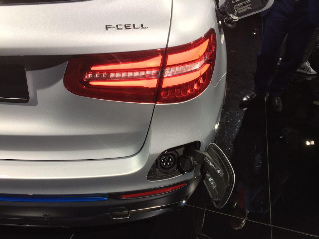Mercedes-Benz GLC F-Cell Plug-in hybrid - zásuvka Mennekes