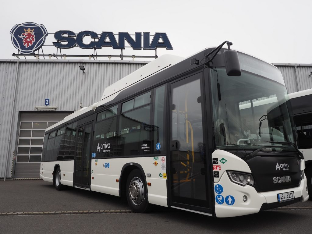 Scania Citywide LE na CNG