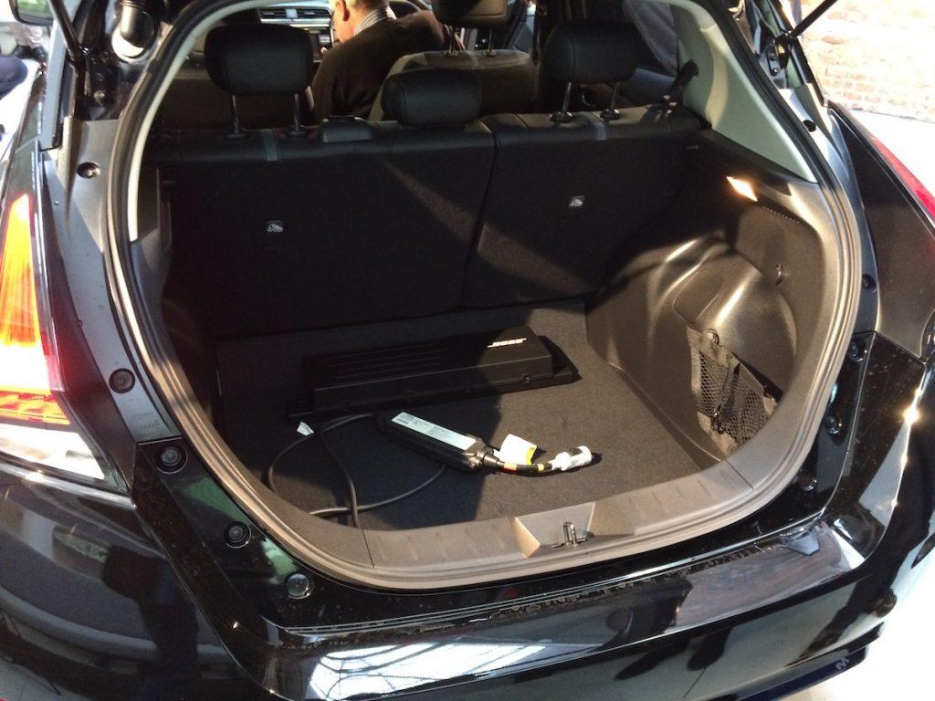 Nový Nissan Leaf 2018 - zavazadlový prostor má 435 l