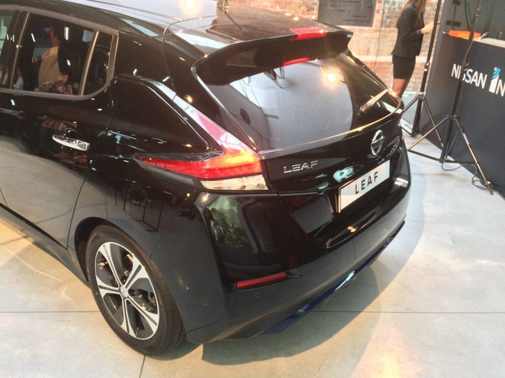 Nový Nissan Leaf 2018 - zezadu
