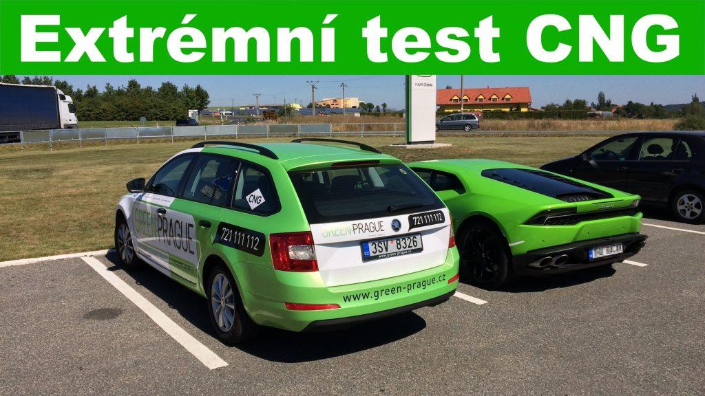 Extrémní test CNG
