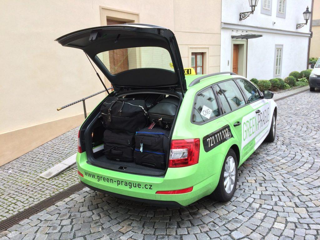 Plně naložená Škoda Octavia G-TEC (extrémní test CNG)