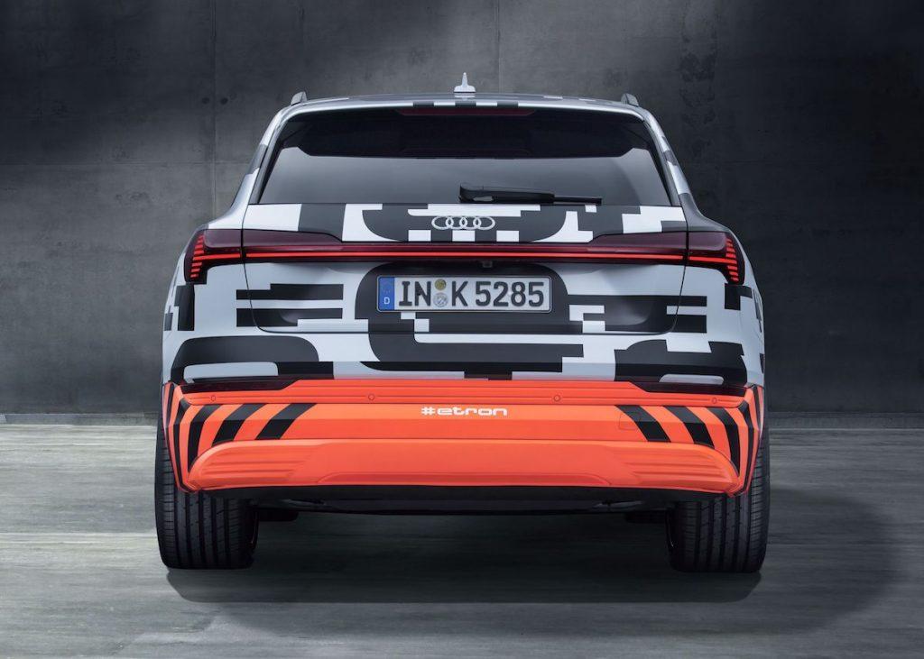 Audi e-tron - zezadu