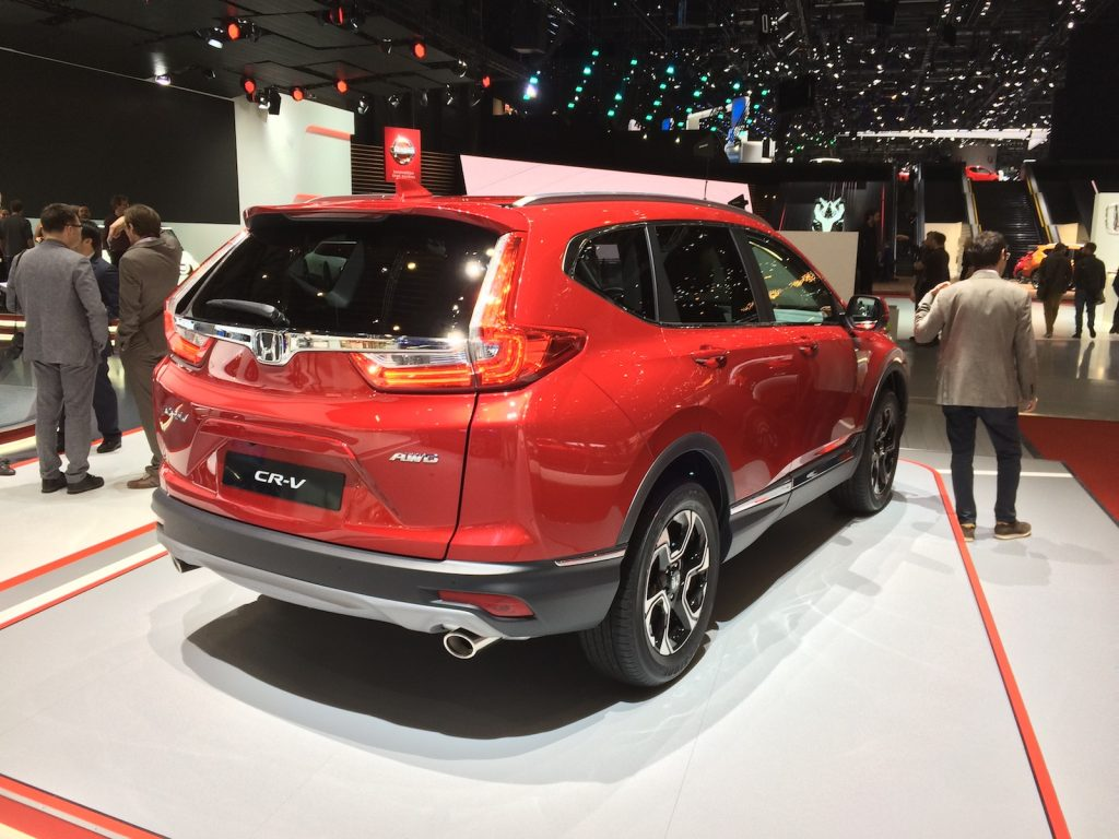 Honda CR-V i-MMD (hybrid) - zezadu