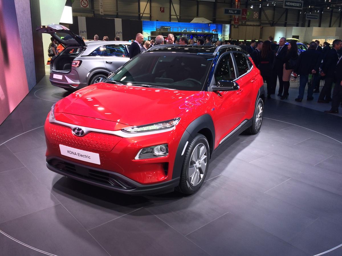 Hyundai Kona Electric - Ženeva 2018