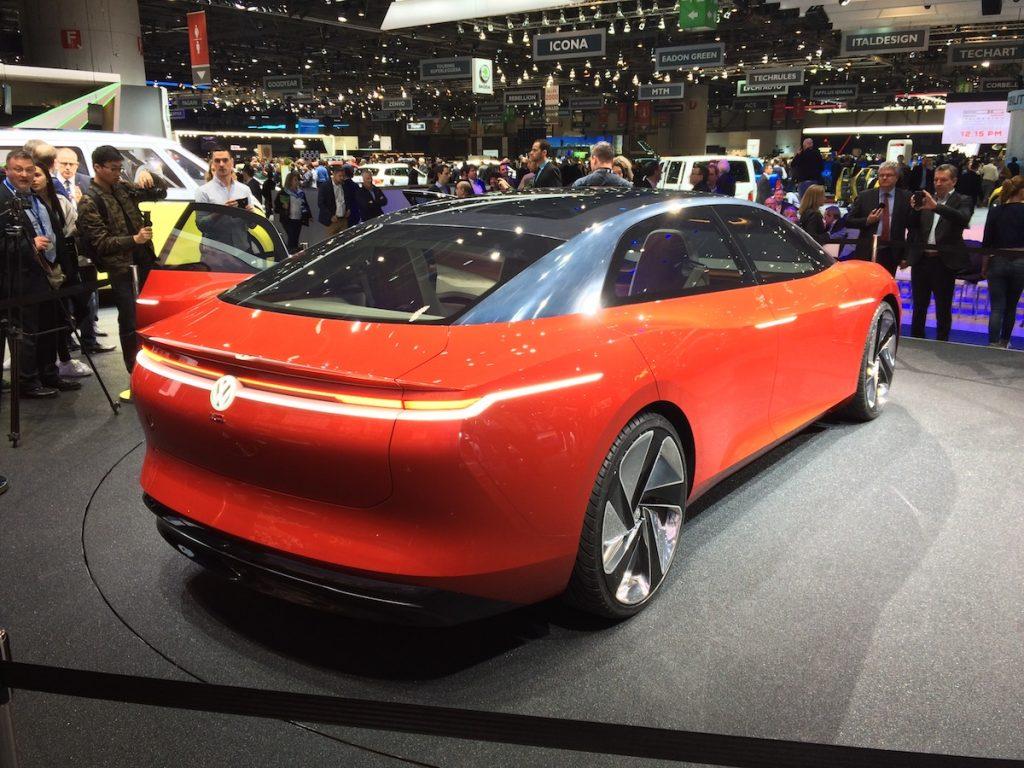 Volkswagen I.D.VIZZION - zezadu