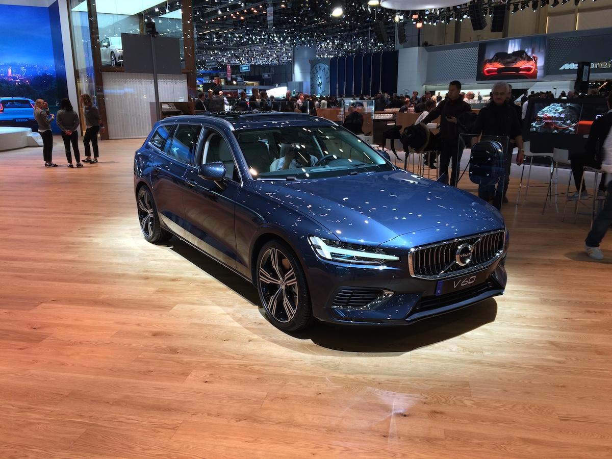 Volvo V60 Twin Engine AWD - Ženeva 2018