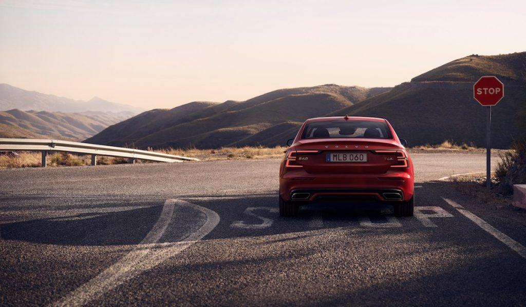 Nové Volvo S60 Twin Engine AWD - zezadu