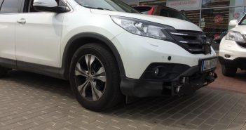 Honda CR-V autonomní řízení - test Bosh v Praze