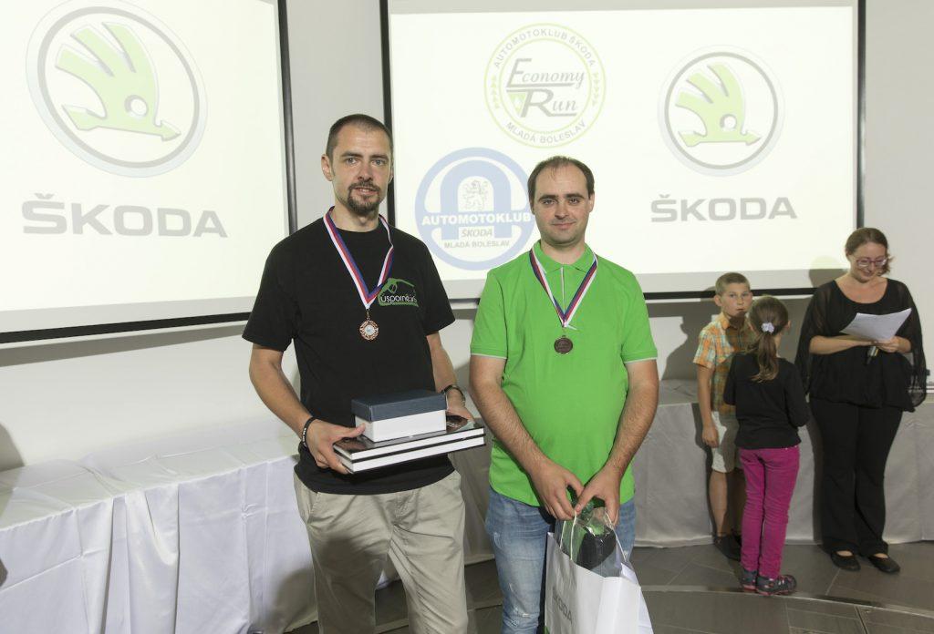 Marek Tomíšek - Miroslav Tomíšek, Škoda Auto, Economy Run 2018, spotřeba